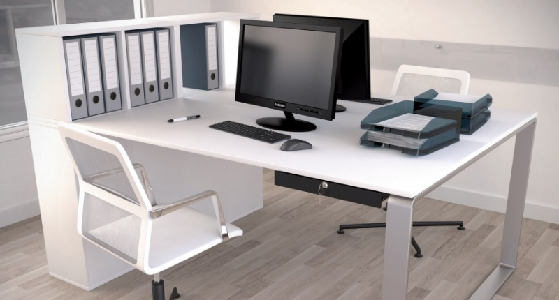 STM Office furniture components – Metal drawers and pedestal internal structures