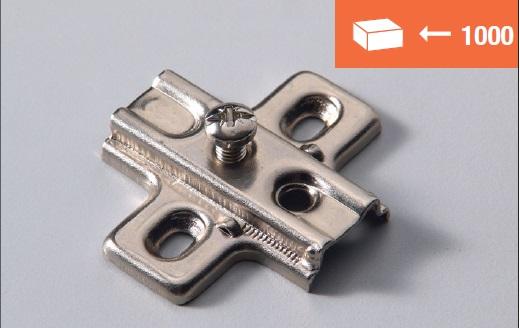 Euro4 mounting plate screw fixing
