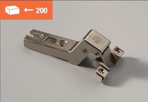 Eurolock hinge 120° for aluminum doors