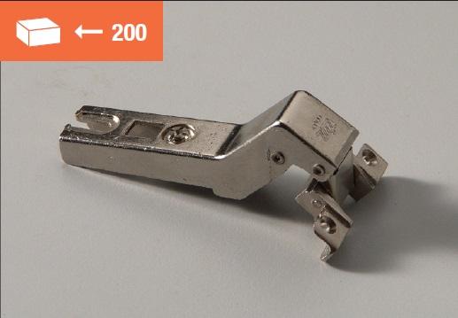 Eurolock hinge 135° for aluminum doors