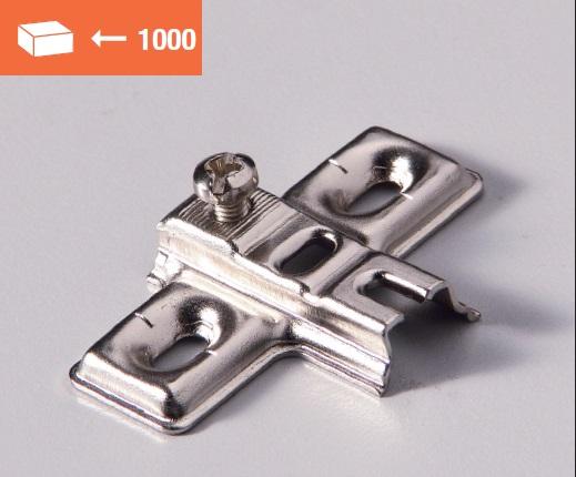 Euromini mounting plate screw fixing