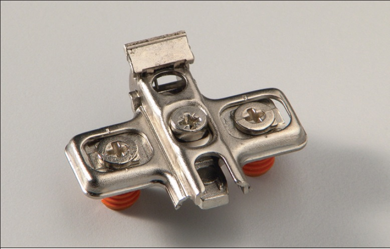 Euroclip adjustable plate FAST system fixing