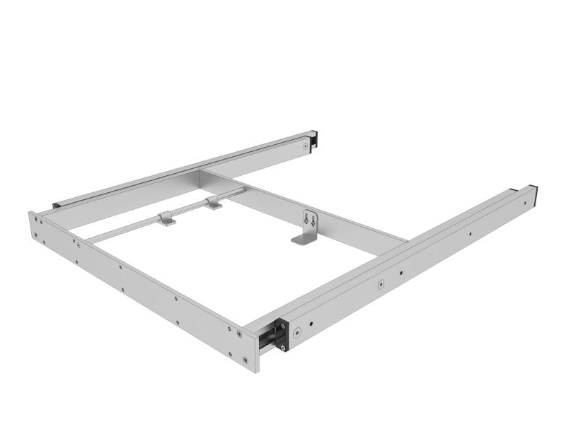 Guide e telai per tavoli estensibili per interni ed esterni