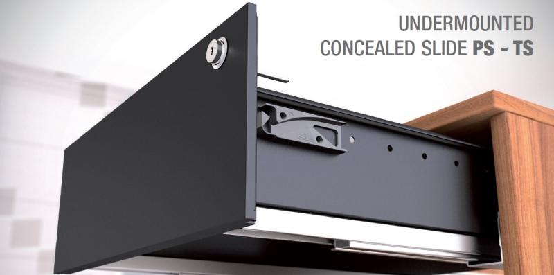 PS500 concealed slides