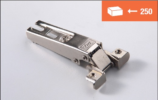 Eurolock 95° collo dritto per ante in alluminio