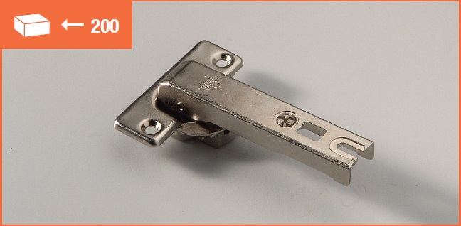 Eurolock hinge 95° for corner cabinets long arm