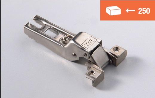 Eurolock 95° mezzo collo per ante in alluminio